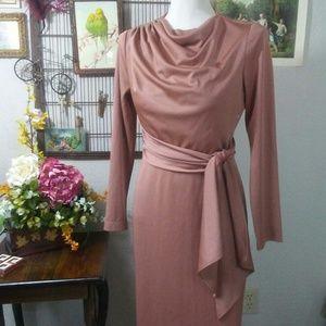 Vintage Ruching Dress